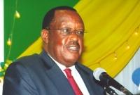 Prime Mister of Uganda addressing EATTA