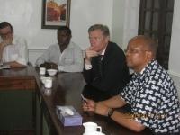 EATTA Officials hosts UK ambassador